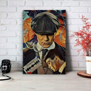 Placa Decorativa Peaky Blinders