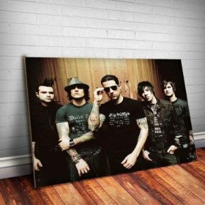 Placa Decorativa Avenged Sevenfold 1
