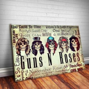 Placa Decorativa Guns n' Roses 6