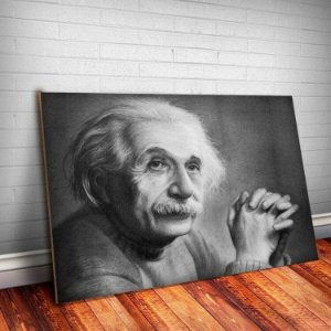 Placa Decorativa Einstein 1