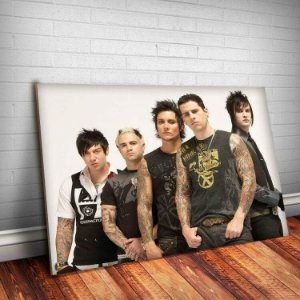 Placa Decorativa Avenged Sevenfold 3