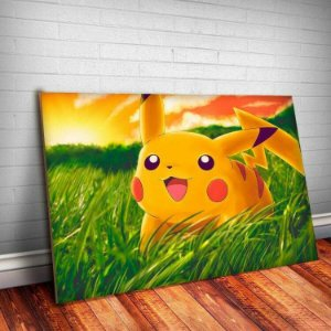 Placa Decorativa Pokemon 3 Pikachu