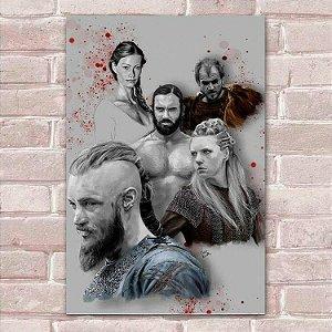 Placa Decorativa Vikings 9
