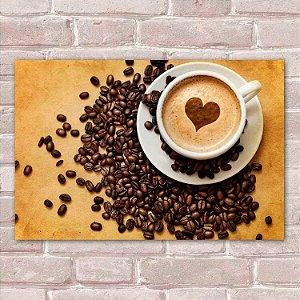 Placa Decorativa Café 2