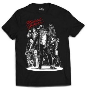 Camiseta Michael Jackson - Rei do pop