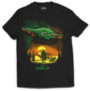 Camiseta the mandalorian - Baby yoda