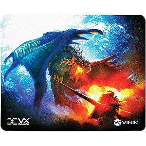 Mouse Pad Gamer VX Gaming Battle, C/ Base Emborrachada 250x210x2mm - 34244 - Vinik