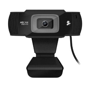 Webcam 5+ Web-h75 Usb 720p Hd 30 Fps Microfone P2 - Chipsce