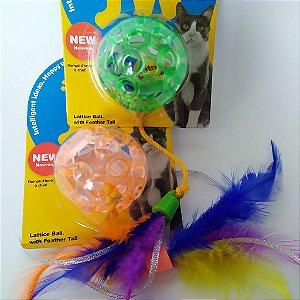 Bolinhas para Gato - macia e colorida
