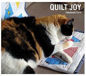 Quilt Joy - mantinha de brincar (PERSONALIZADO)