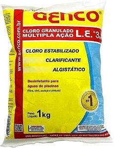 Cloro Granulado Multiação 3x1 | Genco | 1 Kg