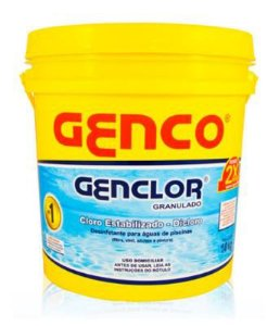 Cloro Granulado Estabilizado Genclor | Genco | 10 Kg