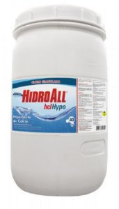 HIDROALL HIPOCLORITO HCL HYPO BARRICA 40KG