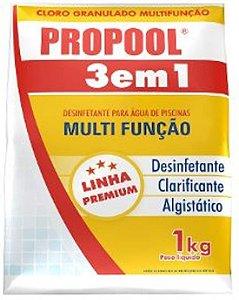 HIDROALL PROPOOL DICLO 3 EM 1 1KG