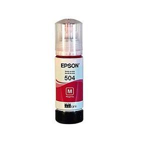REFIL DE TINTA EPSON T504320AL MAGENTA P L4150 L4160