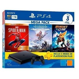 CONSOLE SONY PLAYSTATION 4 MEGA PACK 15