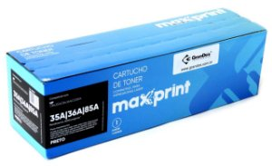 TONER MAXPRINT UNIVERSAL BLKG 35A/36A/85A MAX 1 PC