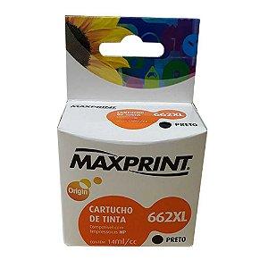 CART IMPR MAXPRINT COMP HP BLKG CZ105A 662XL MAX 1 PC