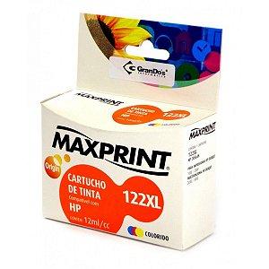 CART TINTA MAXPRINT COMP HP CLRG CH564/N.122X MAX 1 PC