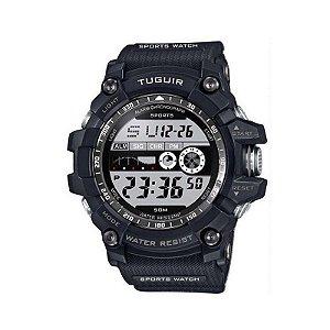 Relógio Masculino Tuguir Digital TG6009 Preto-