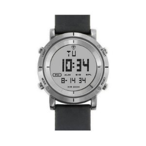 Relógio Masculino Tuguir Digital TG6017 - Preto e Prata-