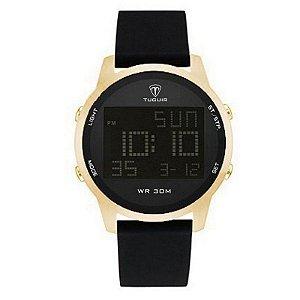 Relógio Masculino Tuguir Digital TG7003 - Preto e Dourado-