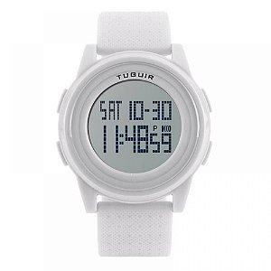 Relógio Unissex Tuguir Digital 1206 - Branco