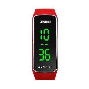 Relógio Unissex Skmei Digital 1119 - Vermelho e Preto