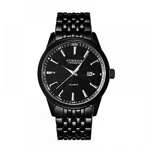 Relógio Masculino Curren Analógico 8052 - Preto