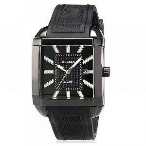 Relógio Masculino Curren Analógico 8145 - Preto