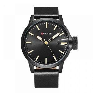 Relógio Masculino Curren Analógico 8208 - Preto