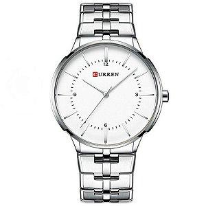 Relógio Masculino Curren Analógico 8321 - Prata