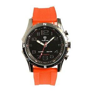Relógio Masculino Tuguir AnaDigi TG2137 - Laranja e Preto-