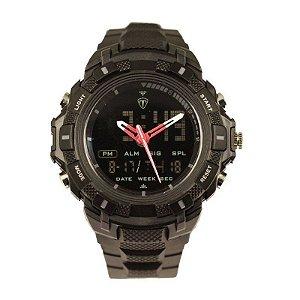 Relógio Masculino Tuguir Anadigi TG5006 Preto-