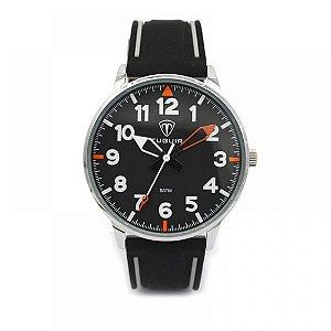 Relógio Masculino Tuguir Analógico 5022 Preto e Cinza