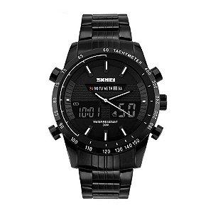 Relógio Masculino Skmei AnaDigi 1131 - Preto e Branco