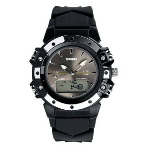 Relógio Masculino Skmei AnaDigi 0821 - Preto
