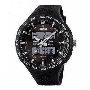Relógio Masculino Skmei AnaDigi 1066 - Preto