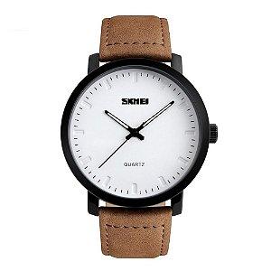 Relógio Masculino Skmei Analógico 1196 Branco