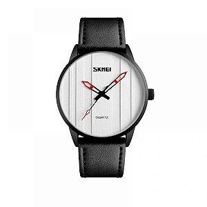 Relógio Masculino Skmei Analógico 1602S - Preto e Prata