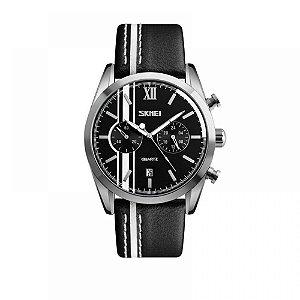 Relógio Masculino Skmei Analógico 9148 Branco