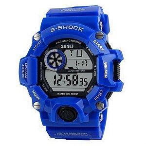 Relógio Masculino Skmei Digital 1019 Azul-