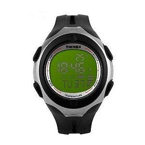 Relógio Masculino Skmei Digital 1080 - Preto e Verde