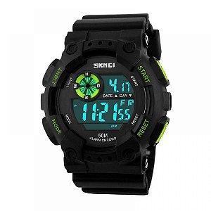 Relógio Masculino Skmei Digital 1101 - Preto e Verde