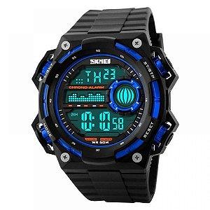 Relógio Masculino Skmei Digital 1115 - Preto e Azul