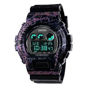 Relógio Masculino Skmei Digital 1150 Azul e Rosa-