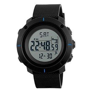 Relógio Masculino Skmei Digital 1215 - Preto e Azul-