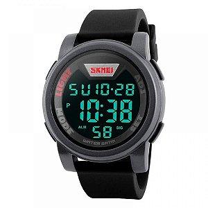Relógio Masculino Skmei Digital 1218 - Preto e Cinza