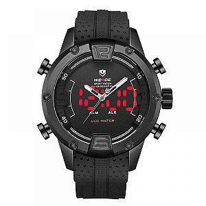 Relógio Masculino Weide AnaDigi WH-7301 - Preto