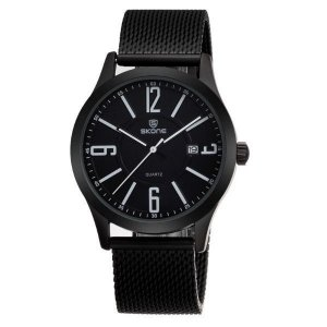 Relógio Masculino Skone Analógico 7347BG Branco-